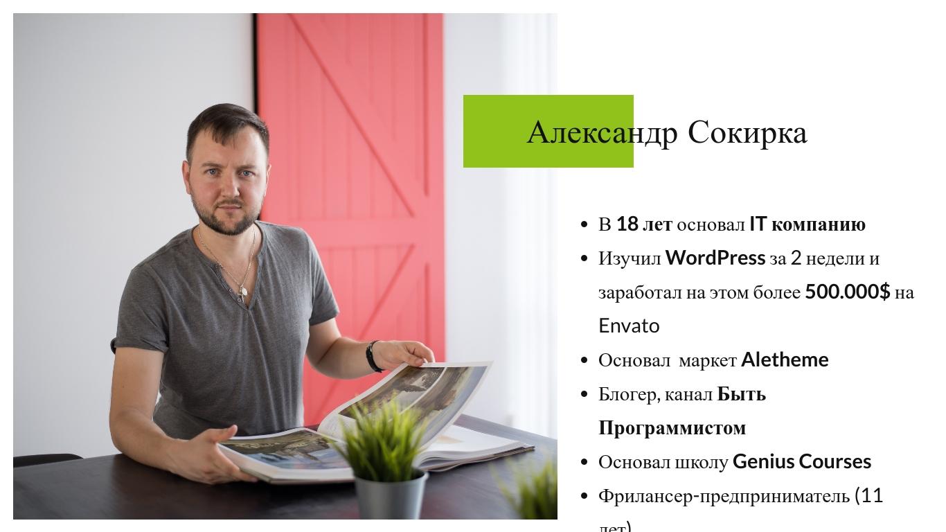 Александр Сокирка - Выступление WordCamp Saint Petersburg 2019 - Хотите достойно зарабатывать - Тогда всегда и везде используйте WordPress_Page_03