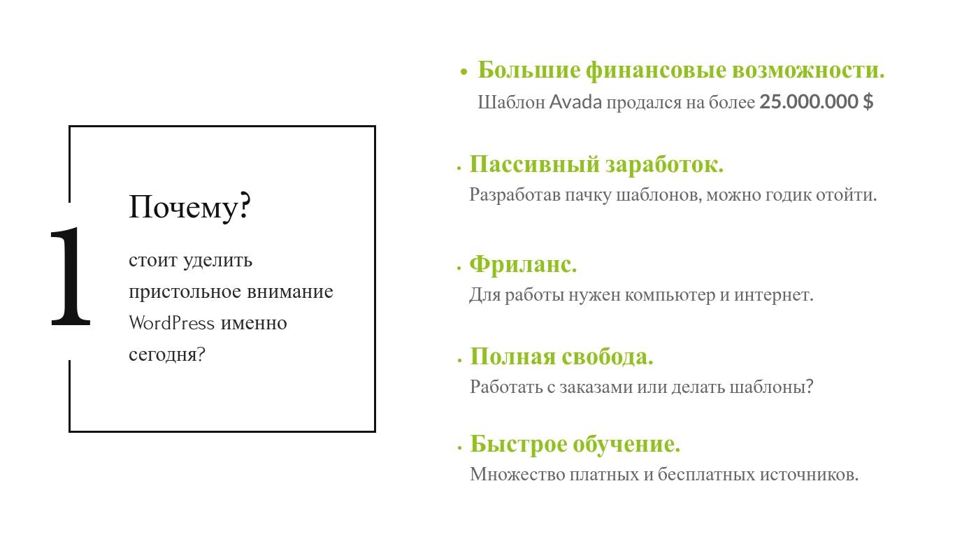 Александр Сокирка - Выступление WordCamp Saint Petersburg 2019 - Хотите достойно зарабатывать - Тогда всегда и везде используйте WordPress_Page_04