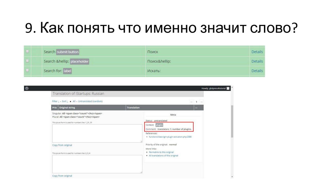 Денис Янчевский Сложности при переводе плагинов и тем в WordPress и их решение_Page_11