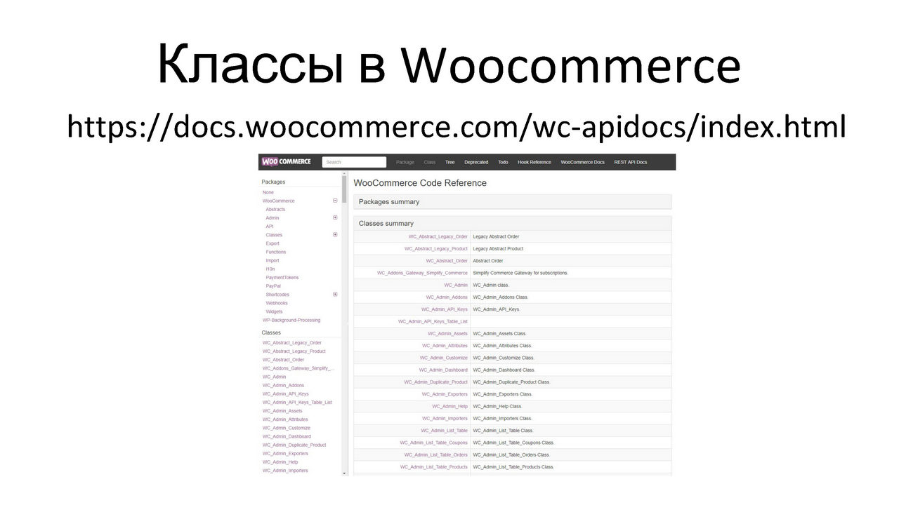 Екатерина Леурдо - Как разбираться в коде без документации на примере WooCommerce_Page_05